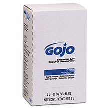 Go-Jo Industries 2000 ml Refill Rose PRO 2000 Shower Up Soap 7230-04