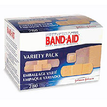 Johnson & Johnson Assorted Sizes Band Aid Comfort Flex 4711