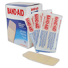 Johnson & Johnson 2in X 4 1 2in Band Aid Comfort Flex Sheer 5716