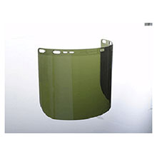 Jackson Kimberly-Clark Faceshields Safety F50 15 1 2in X 8in X .060in Green 29081