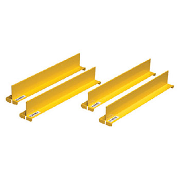 Justrite Manufacturing 2in X 2 1 32in X 14 11 64in Yellow Steel Shelf 29985