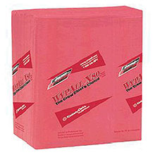 Kimberly-Clark Professional 12 1 2in X 14.4in Red WYPALL X80 1 4 Fold 41029