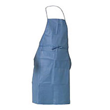 "Kimberly-Clark Professional K4536260 28"" X 40"" Denim Blue 40"" KLEENGUARD A20 MICROFORCE SMS Fabric Disposable Breathable Particle Protection Apron"