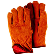 Majestic Drivers Gloves Lined Cow Split 1508F