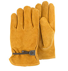 Majestic Drivers Gloves Style Camel Split Rust 1512RK