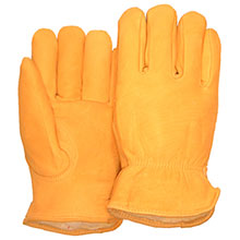 Majestic Drivers Gloves Deer Keystone Pile Lining 1542