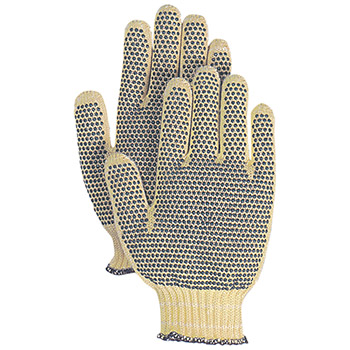 Majestic Cut Resistant Gloves Kevlar Knitted Dot 3110