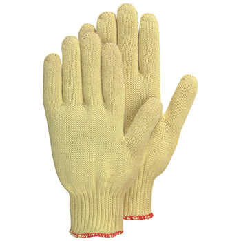 Majestic Cut Resistant Gloves Kevlar Cotton Knit Medium Weight 3118P
