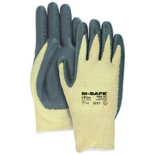 Majestic Nitrile Gloves Foam Palm Coat Kevlar 3227