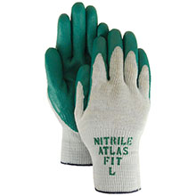 Majestic Nitrile Gloves Atlas 350 Palm Knit 3230