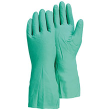 Majestic Nitrile Gloves Flock Lined 15 Mil 3245