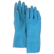Majestic Neoprene Gloves Rubber Unlined Blue 3352