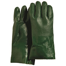 Majestic PVC Gloves Dipped Sand Finish 3362