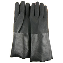 Majestic PVC Gloves 14 Dipped Sand Finish 3364