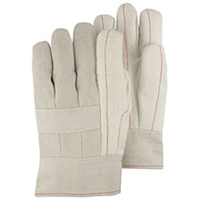 Majestic Hot Mill Gloves 24 Oz. Bandtop Knuckle Strp 3408