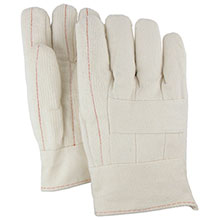 Majestic Hot Mill Gloves 28 Oz. Band Top Knuckle St. 3410