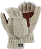 Majestic Work Gloves Ragg Wool Hood Lea.Patch Thins 3422P