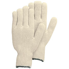 Majestic String Gloves Knit Cotton Poly 60 40 3805