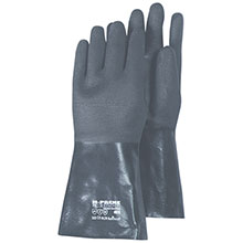 Majestic Neoprene Gloves Rib Finish 14 Inch Black 4003