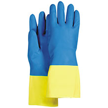 Majestic Neoprene Gloves Over Latex Bi Color 4055
