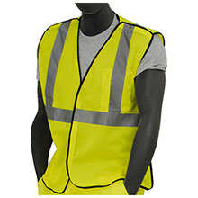 Majestic Mesh Vest Breakaway HV Yellow C2 75-3205