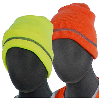 Majestic High Visibility HV Yellow Knit Acrylic 75-8201