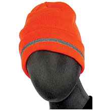 Majestic High Visibility HV Orange Knit Acrylic 75-8202