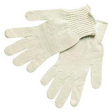 Memphis Yellow Cotton Uncoated Work Gloves With MEG9638LM Large