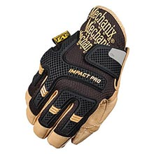 Mechanix Wear Black CG Impact Pro Full Finger MF1CG30-75-010 Large