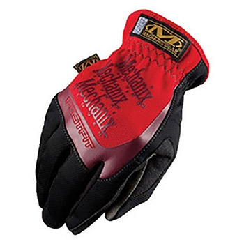 Mechanix Wear Black And Red FastFit Full Finger MF1MFF-02-011 X-Large