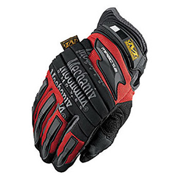 Mechanix Wear Black And Red M-Pact 2 Full Finger MF1MP2-02-012 2X