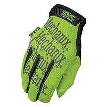 Mechanix Wear Hi-Viz Yellow Safety Original Full MF1SMG-91-010 Large