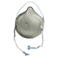 Moldex MOL2601N95 Small N95 Disposable Particulate Respirator With Ventex Exhalation Valve, Molded Nose Bridge And HandyStrap Shell - Meets NIOSH, ANSI And ISEA Standards