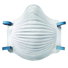 Moldex MOL4200 Medium - Large N95 AirWave Disposable Particulate Respirator With Dura-Mesh Shell - Meets ANSI And ISEA Standards