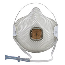 Moldex MOLM2700N95 Medium - Large N95 Special Ops Disposable Particulate Respirator With Ventex Exhalation Valve, HandyStrap And Dura-Mesh Shell - Meets NIOSH And OSHA Standards