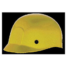 MSA Hardhat Yellow Polyethylene Bump Cap Perforated 10033651