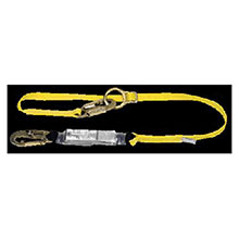 MSA Lanyard Workman Single Leg Shock Absorbing Tie Back 10072472