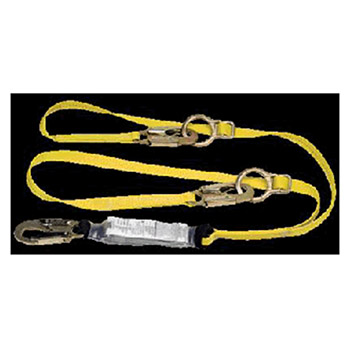 MSA Lanyard Workman Twin Leg Shock Absorbing Tie Back 10072473
