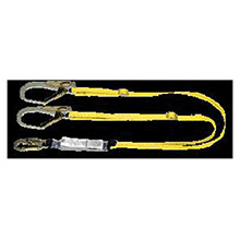 MSA Lanyard Workman Twin Leg Shock Absorbing 10072475
