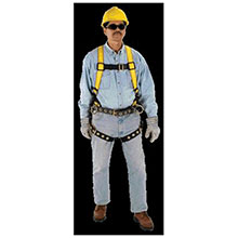 MSA Safety Harness Workman Construction Style 10072495