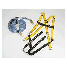 MSA Fall Protection Kit Workman Roofers 10074480