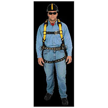 MSA Safety Harness Workman Construction Style 10077571