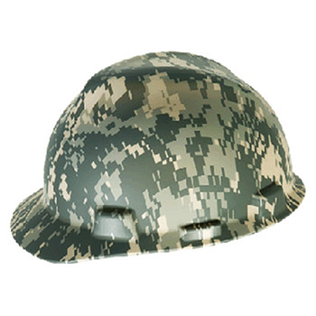 MSA Hardhat Camouflage V Gard Freedom Series Class E 10103908