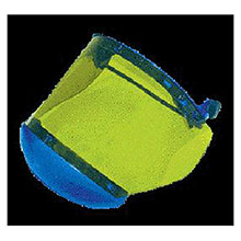National Safety Apparel Faceshields Arc 10 Green Propionate H16XX10CALS