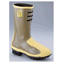Servus by Honeywell Rubber Boots Size 11 Flex Gard Brown 12in Flexible 2149-11