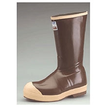 Servus Honeywell Rubber Boots Size 10 XTRATUF Brown 16in Polymeric Foam 22273G-10