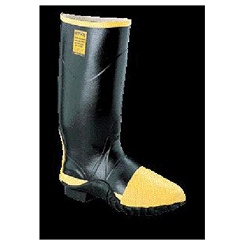 Servus by Honeywell Rubber Boots Size 8 TURTLEBACK Black 16in Full R2145-8