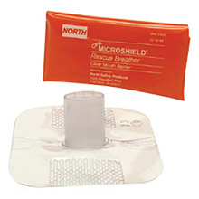 North by Honeywell NOS121065 Microshield CPR Rescue Breather