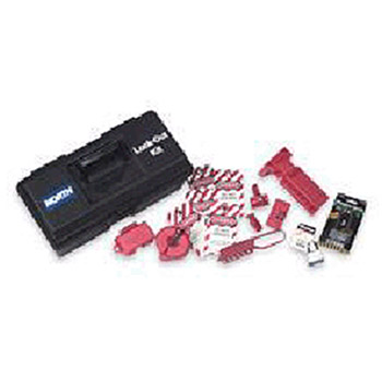 North by Honeywell Lockout Tagout Toolbox Kit Includes: 1 LK107FE