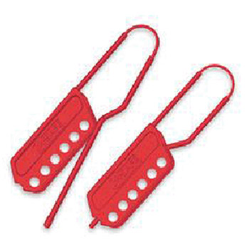 North by Honeywell M Safe Red Nylon Lockout Hasp Up To MS01